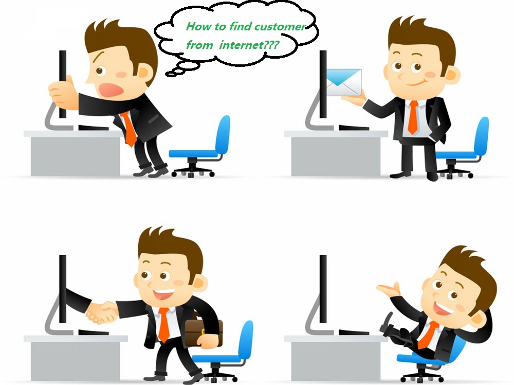 get customer from internet