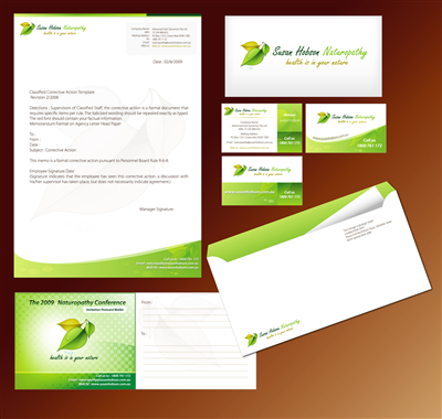 stationery vi design